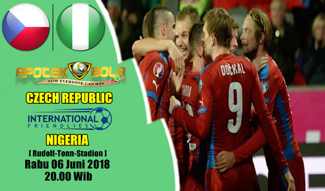 Prediksi Czech Republic vs Nigeria 6 Juni 2018