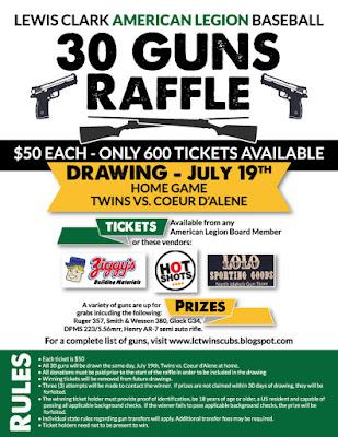30 Guns Raffle