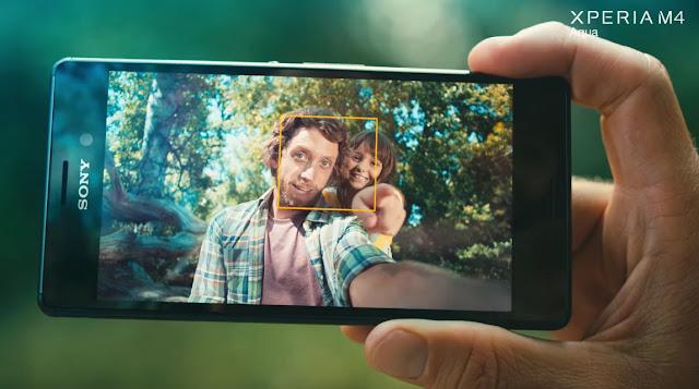 M4 Aqua ile Selfie Çekin