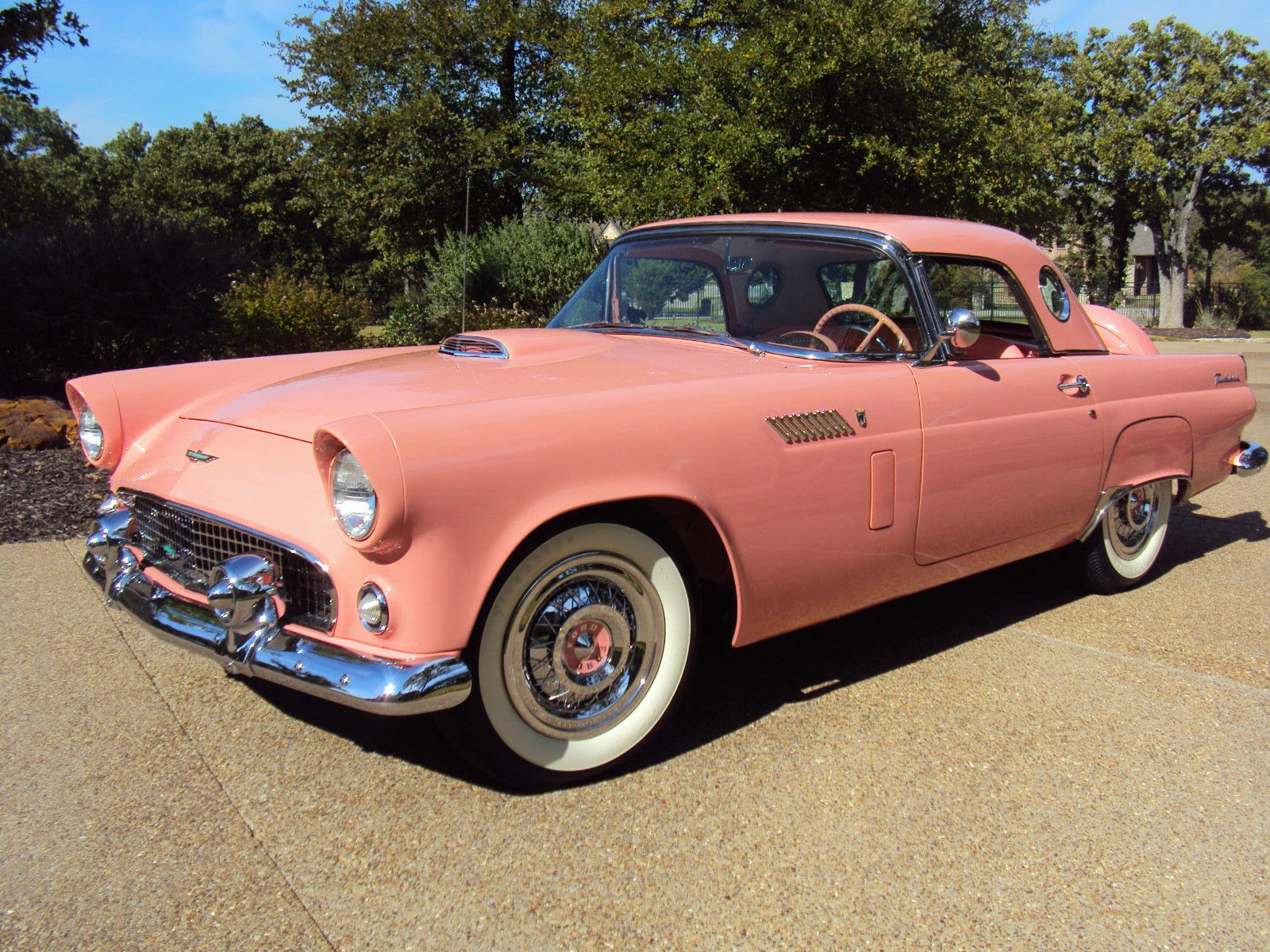 Cadillac Convertible 2015 >> All American Classic Cars: 1956 Ford Thunderbird 2-Door Convertible