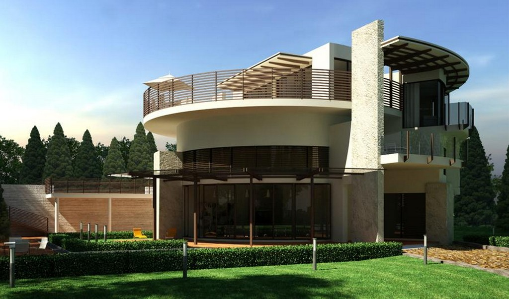 New home designs latest Western homes front designs