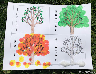 Tap the Magic Tree art project