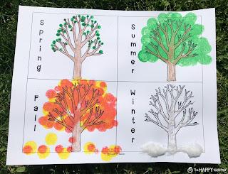 Tap the Magic Tree art project