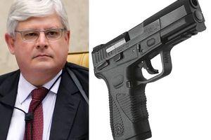 Rodrigo Janot: Uma pistola ao lado da cama e o desarmamento dos outros