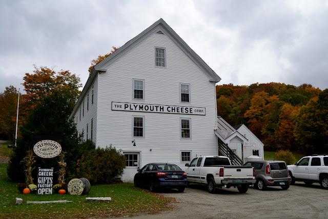 Сироварня Плімут Чіз Фекторі, Вермонт (The Plymouth Cheese Factory, VT)