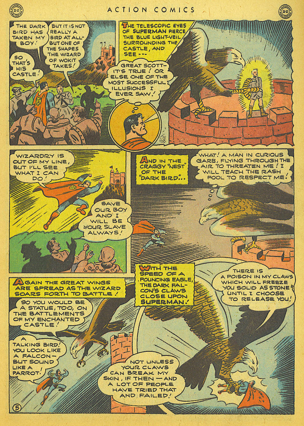 Read online Action Comics (1938) comic -  Issue #86 - 7