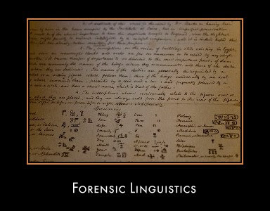 Funky Ed S Intro To Forensic Linguistics