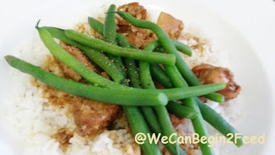 Sesame Chicken in the Crock Pot by @WeCanBegin2Feed
