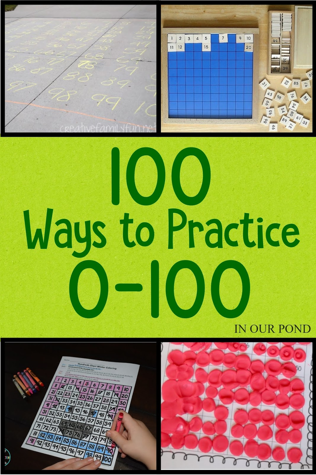100 Ways To Practice Numbers 0 To 100