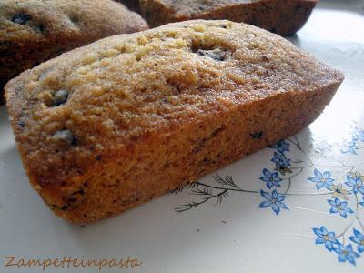 Mini plumcake con farina di nocciole