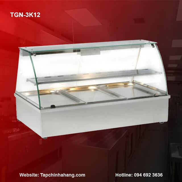 Quầy giữ nóng 3 khay TGN-3K12
