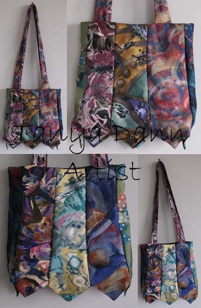 Art Tanya Dann Tie Bags - 7 Patterns