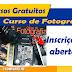 Curso gratuito de fotografia em Santos