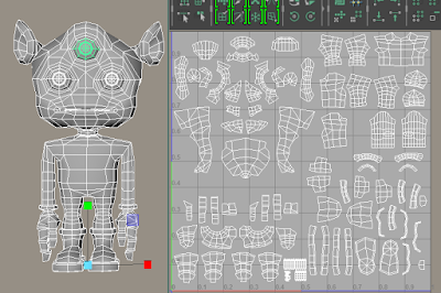 That's what I call UV mapping SERIOUSLY!