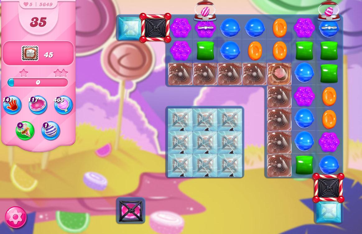 Candy Crush Saga level 5649