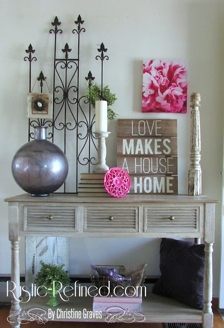 Spring Home Decor around the house. Adding bright cheery color for Spring