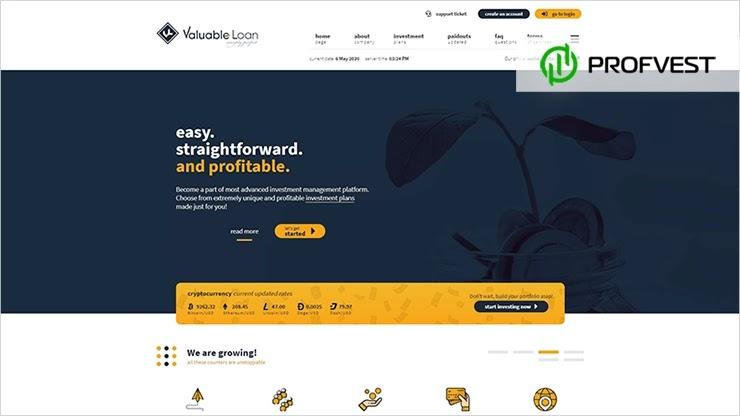 Valuable Loan обзор и отзывы HYIP-проекта