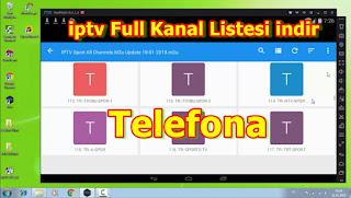 iptv Full Kanal Listesi indir Telefona / iptv Free m3u List Apk