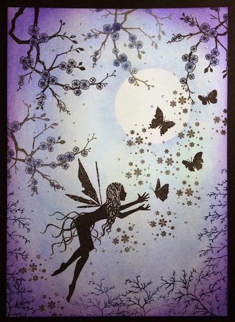 Cute Fairies Silhouettes