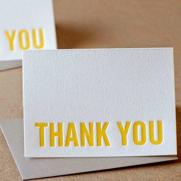 22 Unique Letterpress Thank You Cards For Wedding Jayce O Yesta