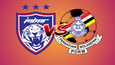 Live Streaming JDT II vs PDRM Liga Premier 3.5.2019