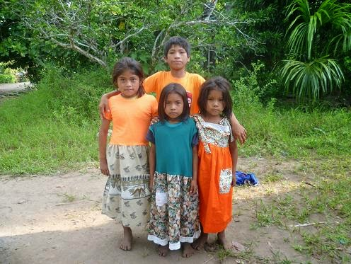 Jungle kids from Peru