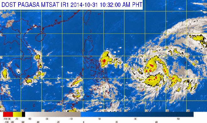 PAGASA: Tropical Depression spotted outside PAR