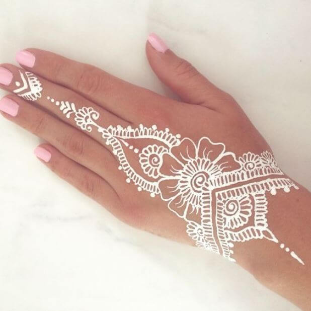 White Mandala Tattoos