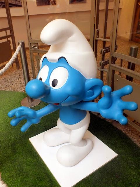 pitufos bruselas, museo del comic
