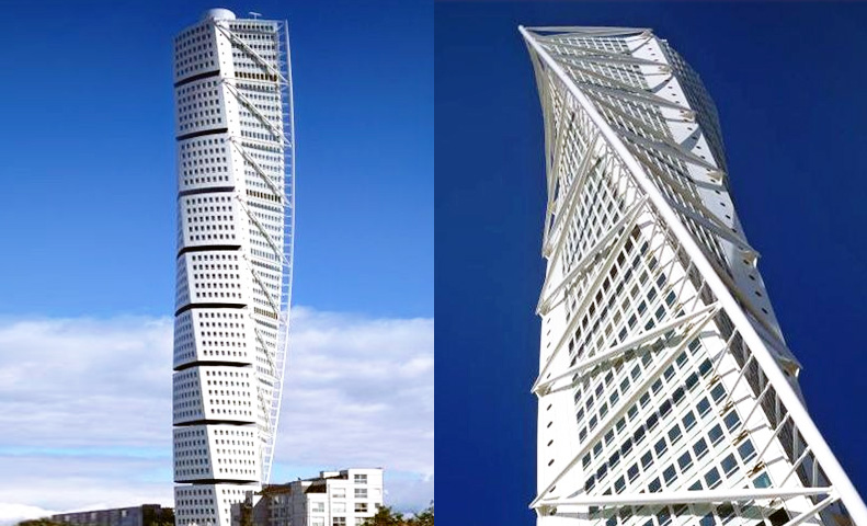 Image result for Turning Torso, Sweden, 2012