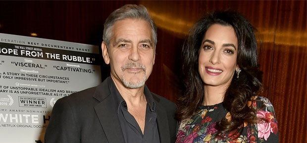 newgersy/ Amal and George Clooney are preparing for the birth of their twins