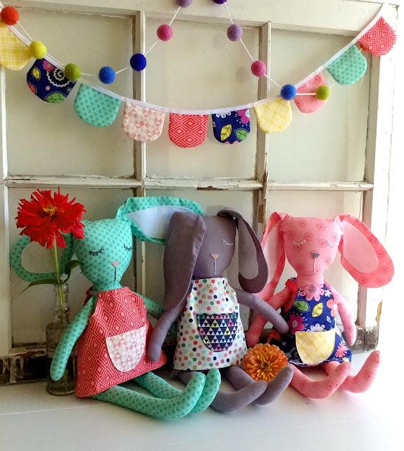 bunny softies