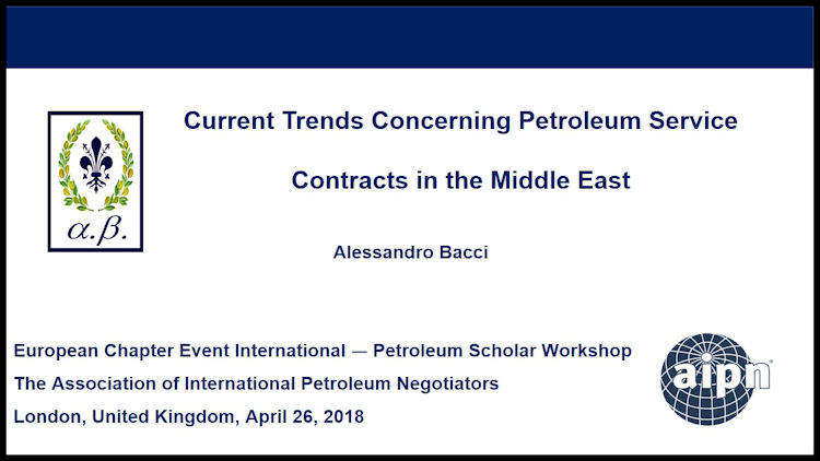BACCI-Current-Trends-Concerning-Petroleum-Service-Contracts-in-the-Middle-East-April-2018-1
