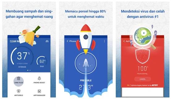Aplikasi Pembersih (Cleaner) Perangkat Android Terbaik 2018