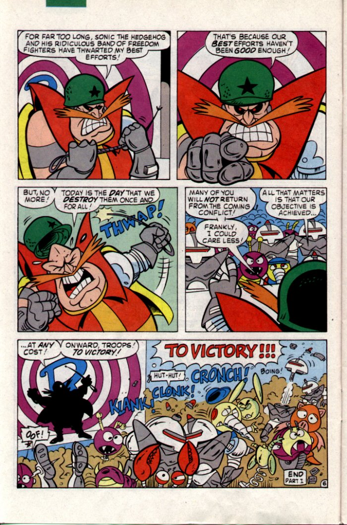 Read online Sonic The Hedgehog comic -  Issue #18 - 7