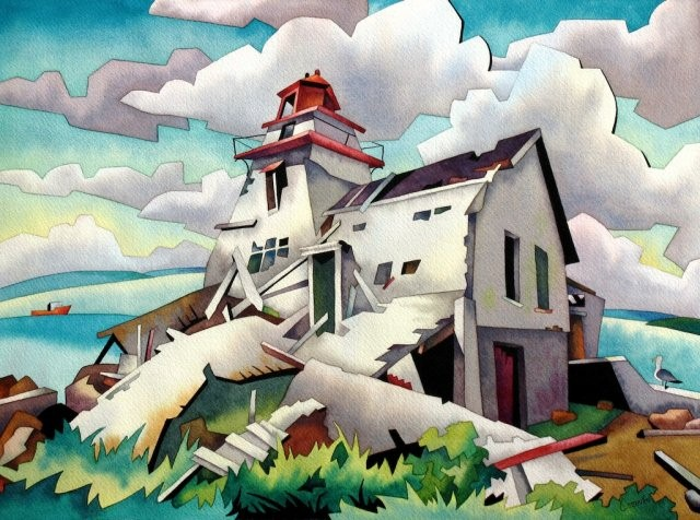 Канадский художник. Barry Coombs 15