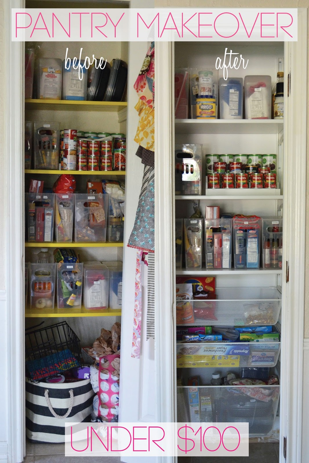 Stacy Charlie Project Pantry Makeover Under 100
