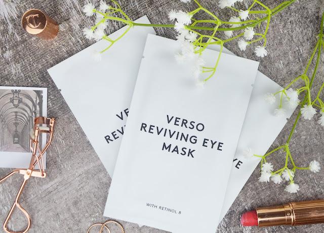 Verso Skincare Reviving Eye Masks Review Lovelaughslipstick Blog
