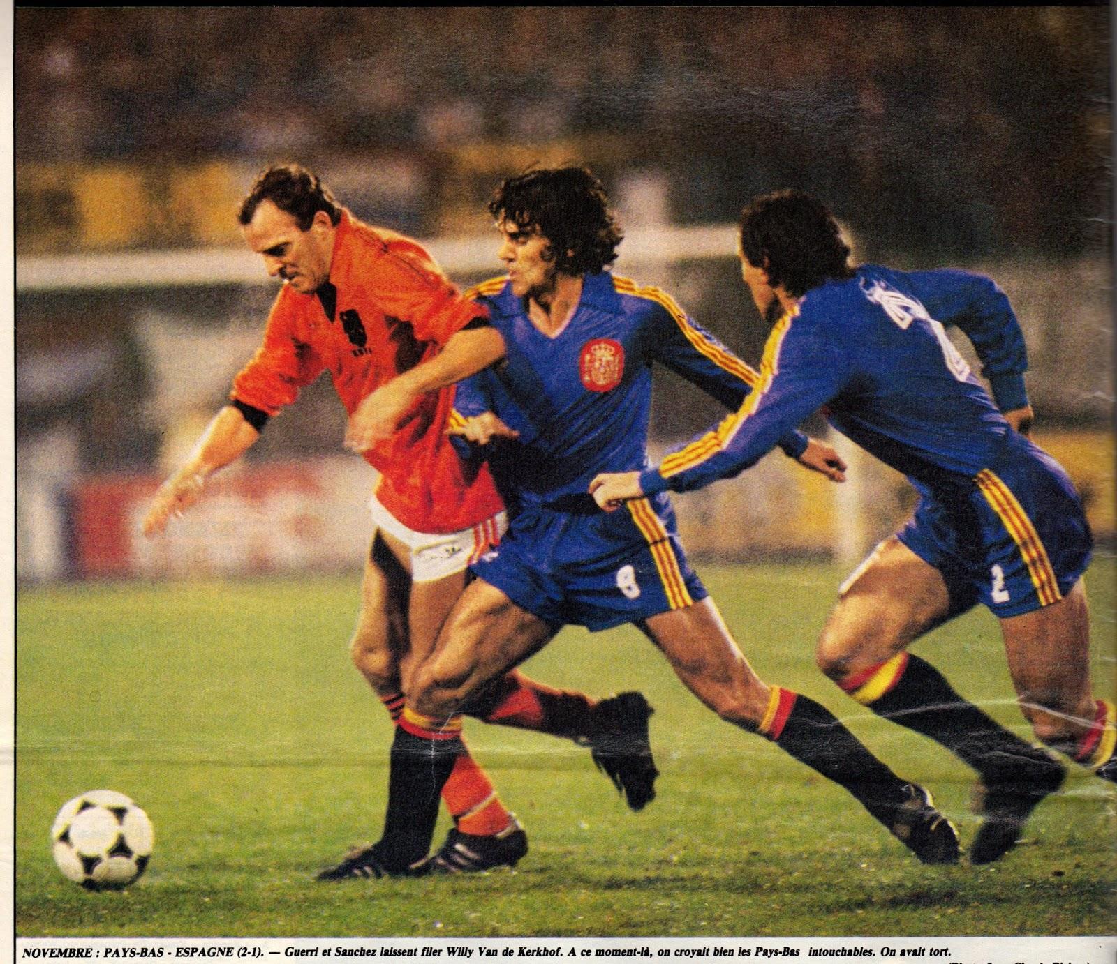 Resultado de imagem para equipe  de foot hollande  1983