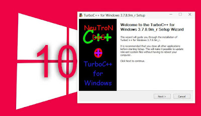 Turbo C++ installing guide step 1