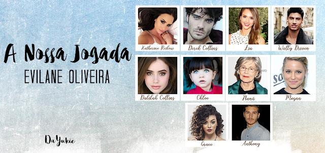 A Nossa Jogada: Personagens - Evilane Oliveira