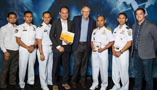Penghargaan Pusat Hidrografi dan Oseanografi TNI AL (Pushidrosal)