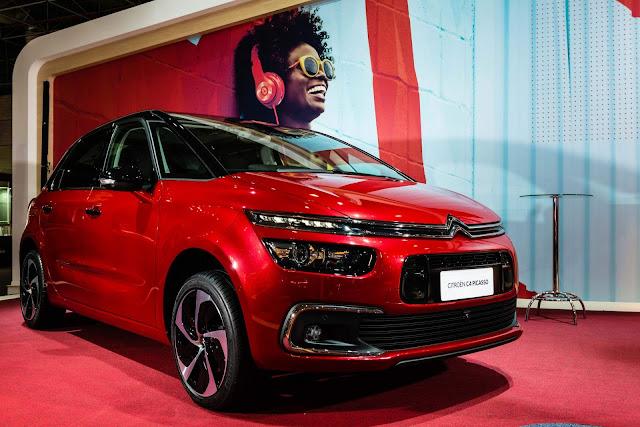 Citroën C4 e Grand C4 Picaso 2017: preços e detalhes