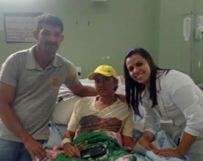 Hospital de Emergência Daniel Houly de Arapiraca, procura por familiares de paciente de  Mata Grande