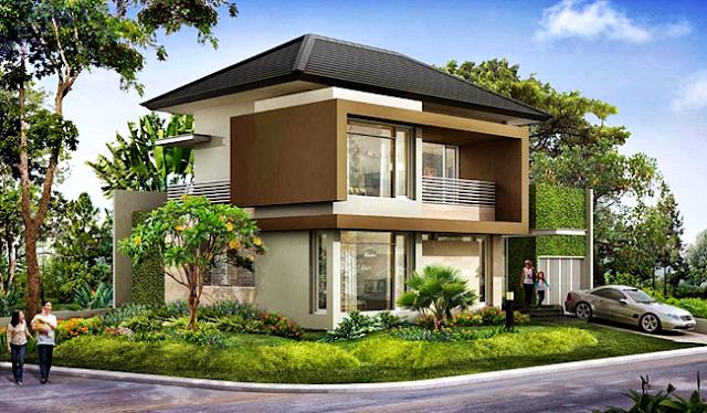 Kumpulan Model Gambar Rumah Idaman Terbaru 2016 - Rumah Idaman Berkonsep Asri Nan Hijau