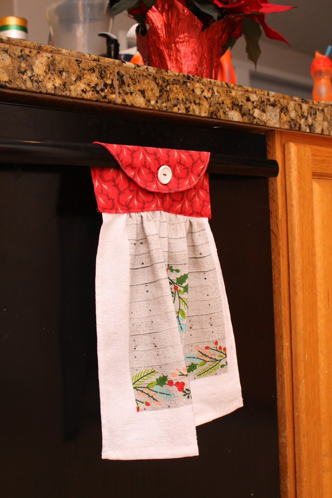 kitchen towel designs hanging dish towel pattern gyct designs 3378
