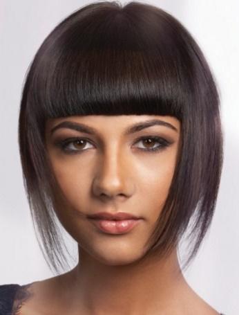 aqu las mejores imgenes de sencillos cortes de pelo lacio para mujeres como fuente de inspiracin