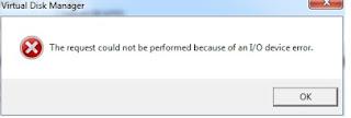 Cara Jitu Mengatasi I/O Device Error Pada Hardisk (Terbaru)