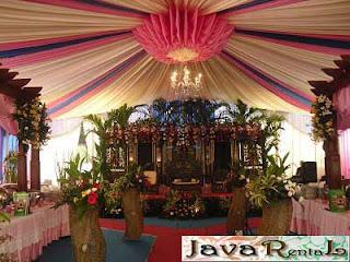Sewa Tenda Dekorasi VIP - Sewa Tenda VIP Pernikahan