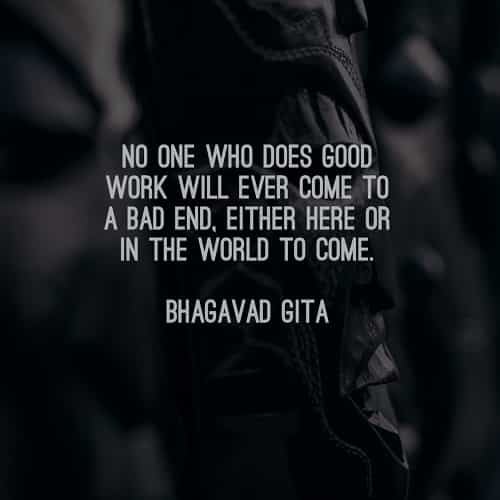 Bhagavad Gita Quotes On Life And Death: 23 Inspirational Bhagavad Gita Quotes That Will Change